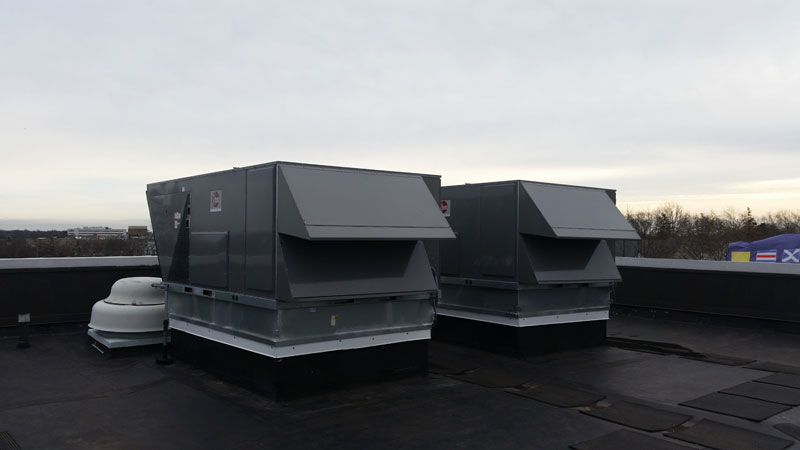 20 ton rooftop unit replacements after installation